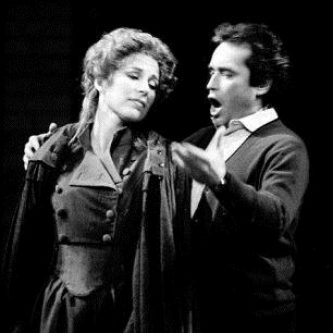 MADDALENA, Andrea Chenier with Jose Carreras,Royal Opera House 1984