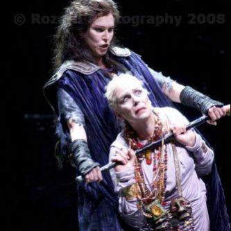 KLYTÄMNESTRA, Elektra, with Janice Baird, Seattle 2008